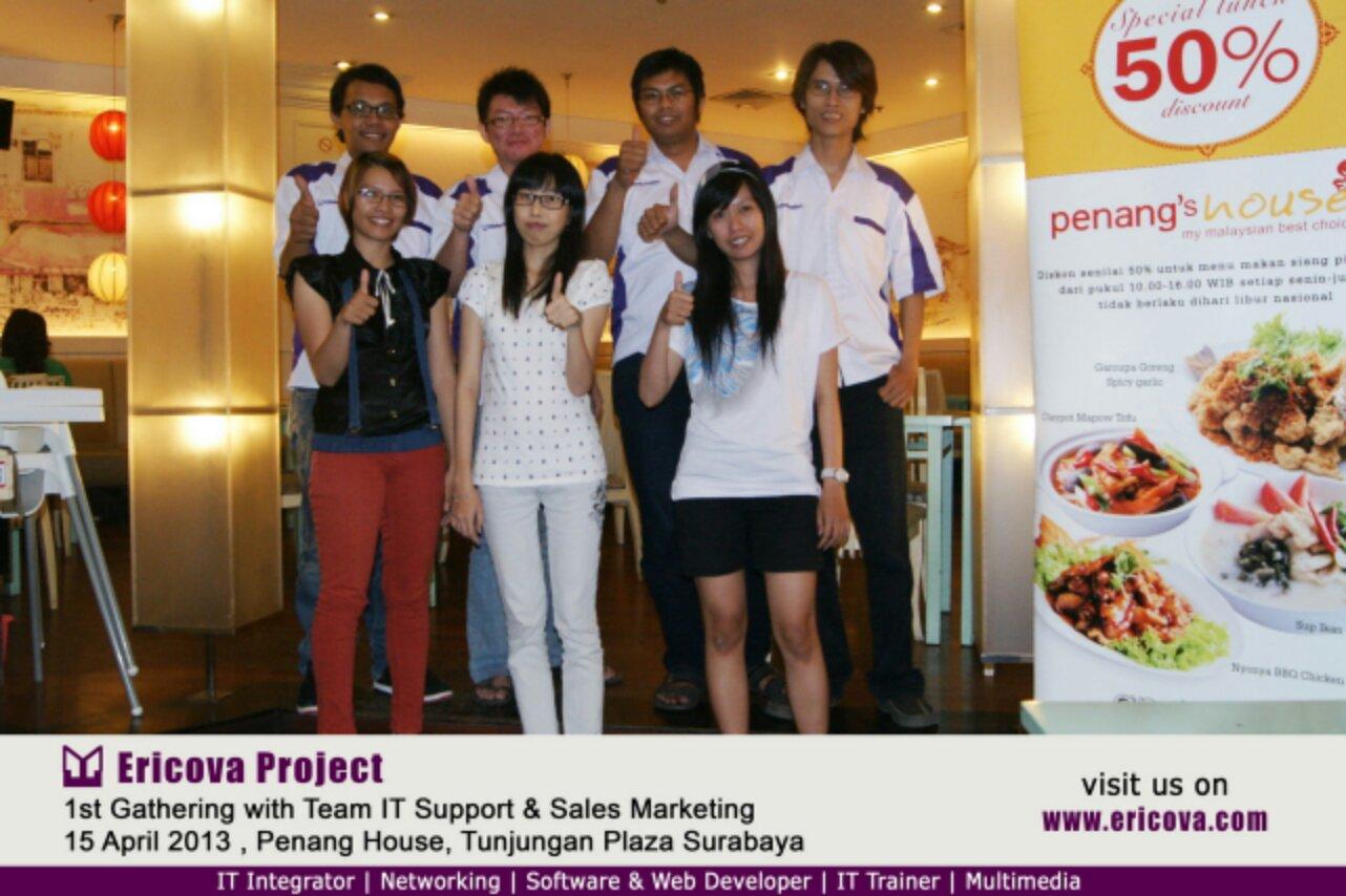 1st Gathering Team Ericova Project Indonusa