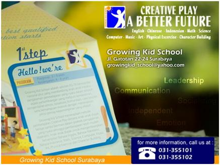 Growing Kid School Surabaya